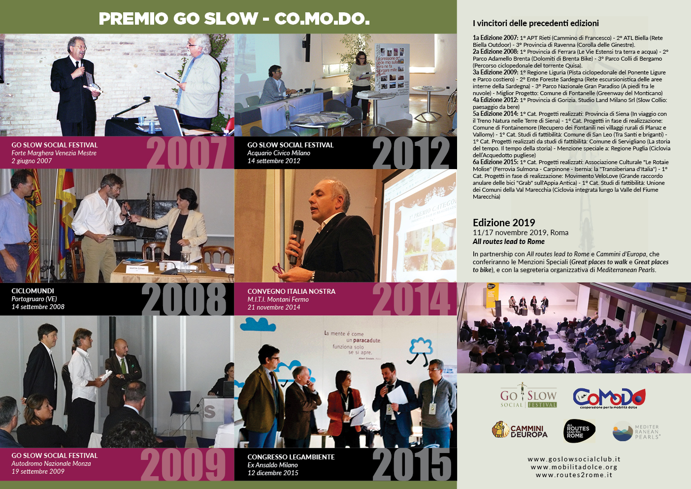 Storico Premio Go Slow-Co.Mo.Do.